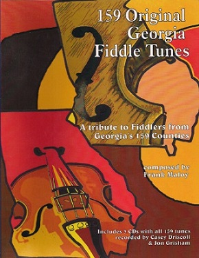 159 Original Georgia Fiddle Tunes