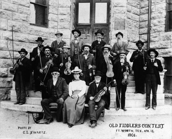 1901 Fort Worth Fiddle Contest