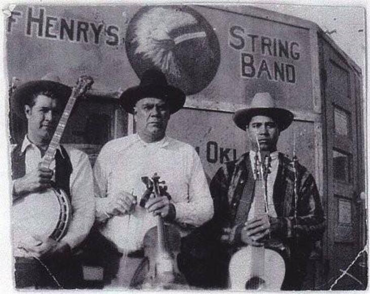 Clarance, Henry and Harold Hall - Big Chief Henry's Indian String Band